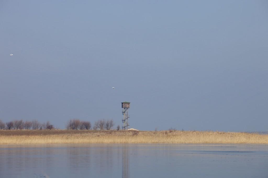 DURANKULAK LAKE BULGARIA. IN WINTER